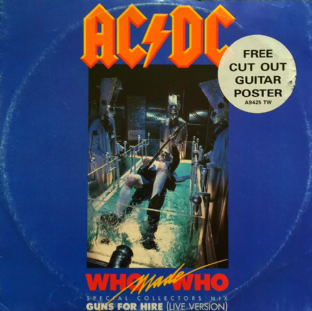 "AC/DC - Who Made Who (12"") (G/G)"